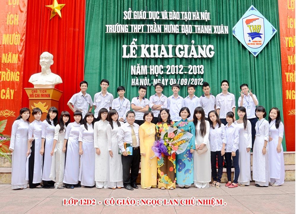 Lễ Khai giảng 2012 - 2013